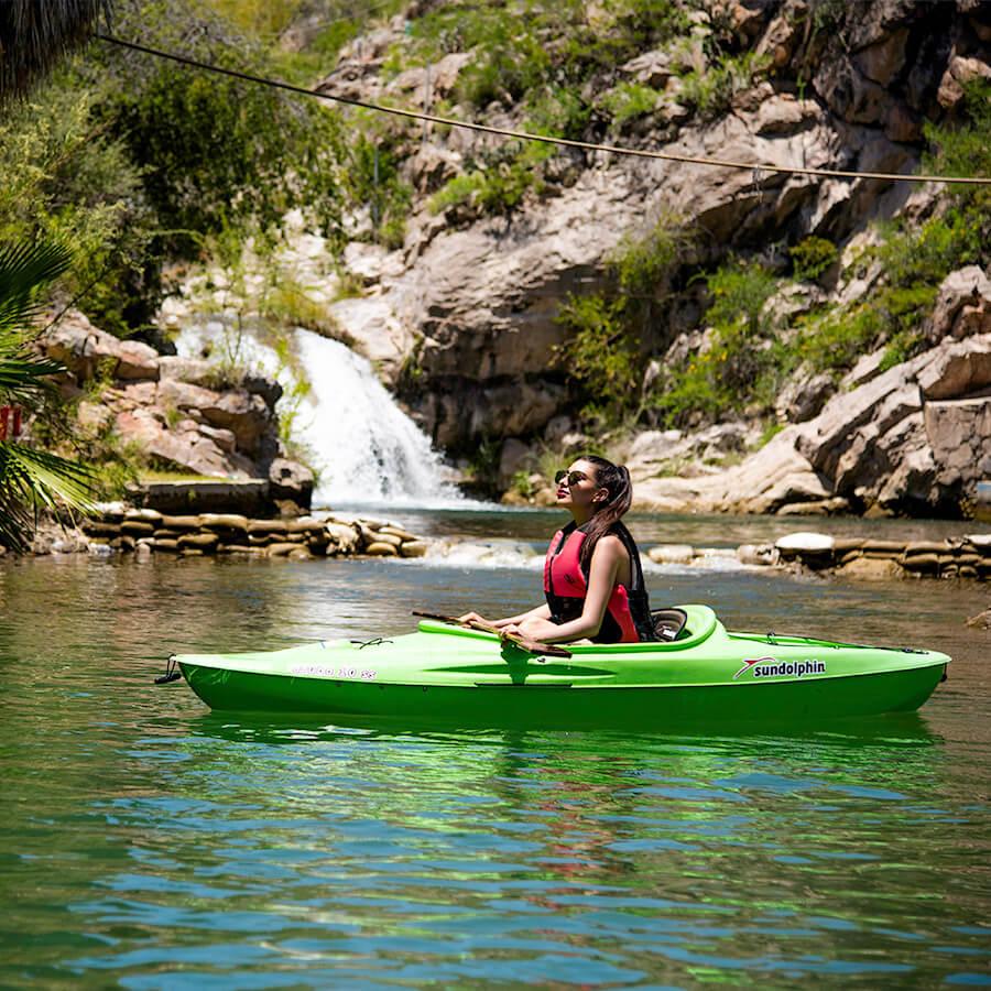 Los descensos por ríos son de los deportes de aventura en Chihuahua más emocionantes.